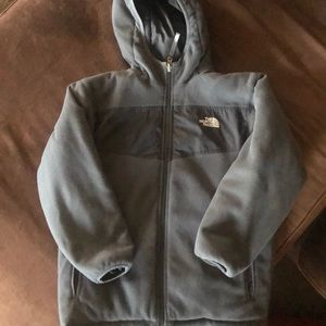 The North Face Jackets & Coats - Boys The  North Face reversible hooded jacket
